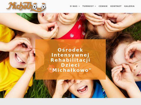 Michalkowo.pl rehabilitacja dzieci Bielsko