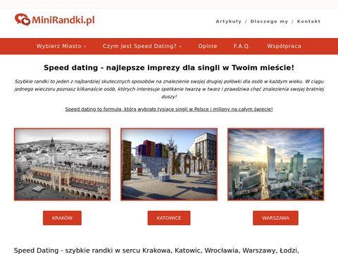 Minirandki.pl speed dating Katowice