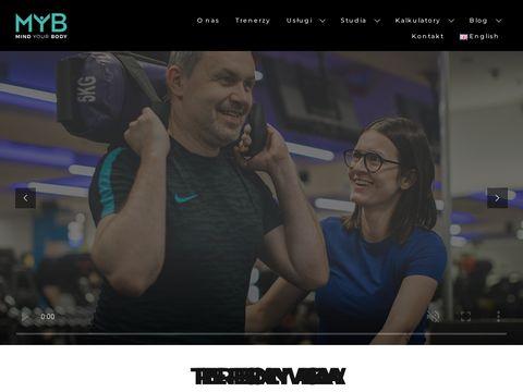 Mindyourbody.pl - trener personalny