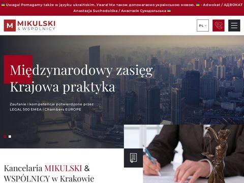 Mikulski.krakow.pl procesy sądowe