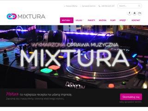 Mixtura.com.pl dj Warszawa