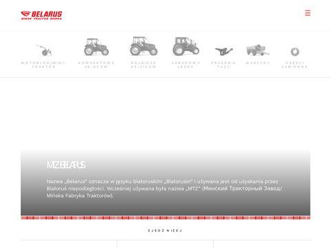 Mtzbelarus.pl - Białoruskie traktory