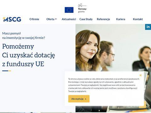 Mscg.com.pl projekty gospodarka niskoemisyjna