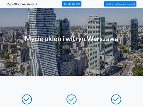 Mycieokien.warszawa.pl w mieszkaniach i biurach