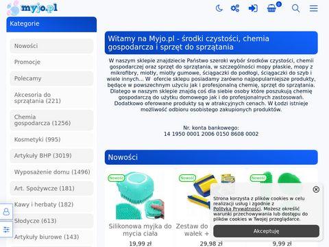 Myjo.pl sprzęt do sprzątania