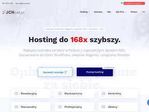 Jchost.pl usługi