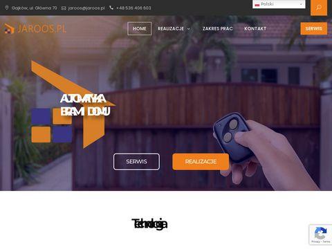 Jaroos.pl automatyka do Twojej bramy