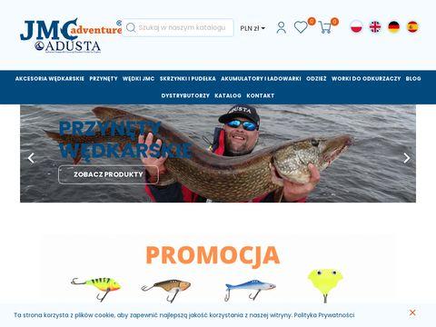 Jmcadventure.com plecionki wędkarskie