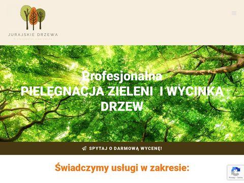 Jurajskiedrzewa.pl wycinka