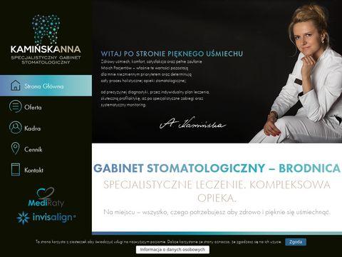 Kaminska.pro ortodonta Brodnica