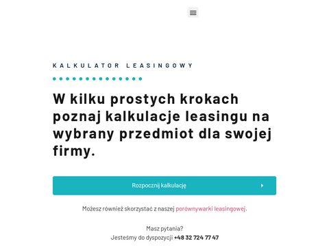 Kalkulatorleasingowy.pl