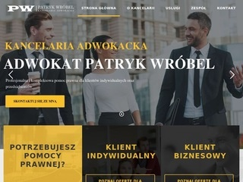 Kancelariawrobel.pl adwokat Patryk Wróbel