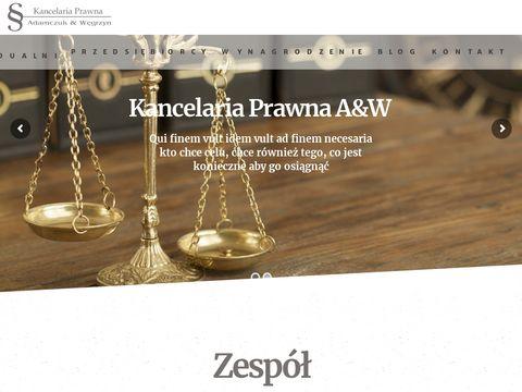 Kancelariaprawna-aw.pl Warszawa