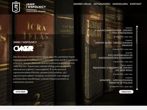 Kancelaria-janik.com adwokaci
