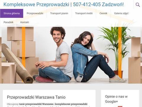 Kompleksowe-przeprowadzki.pl transport pianin