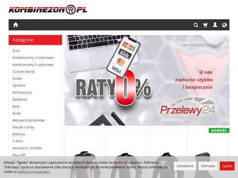 Kombinezon.pl plecaki motocyklowe