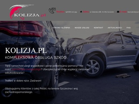 Kolizja.pl odszkodowanie Szczecin