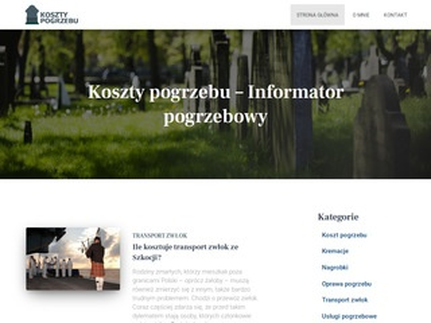 Kosztypogrzebu.pl informator