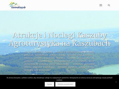Koronakaszub.eu agroturystyka Gołubie