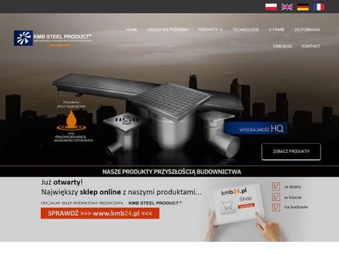 KMB Steel Product - odwodnienia liniowe