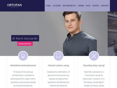 Ortofan dr Wyszomirska - protetyka 3D
