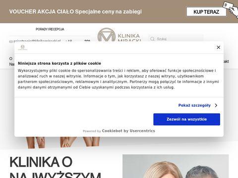 Klinikamiracki.pl - zabiegi laserowe Warszawa