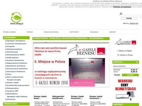 Klima-sklep.pl klimatyzacja Mitsubishi