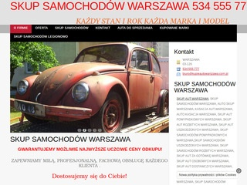 Kupieautowarszawa.com.pl skup