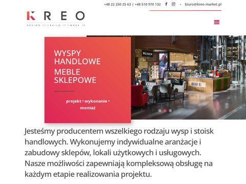 Kreo-market.pl meble sklepowe