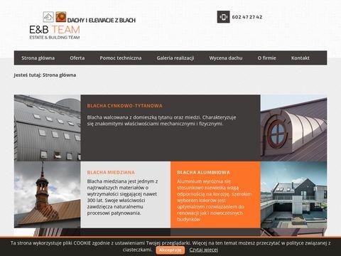 Krak-zinc.pl systemy odprowadzania wód