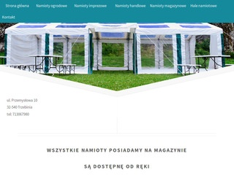 Halplan.pl namioty imprezowe bankietowe