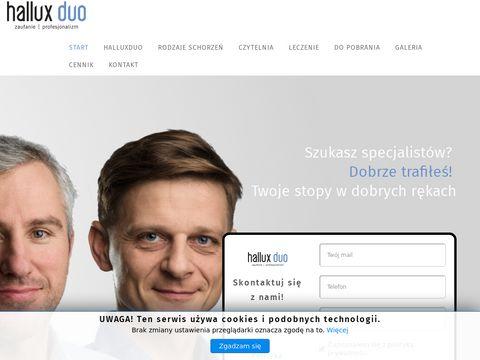Halluxduo.pl ortopeda