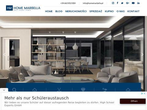 Homemarbella.pl Costa del Sol domy