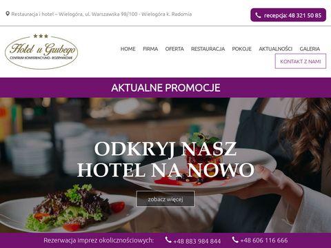 Hotelwradomiu.pl u Grubego