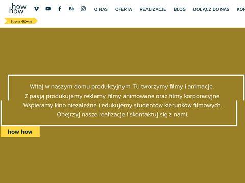 Howhow.pl studio filmu i animacji