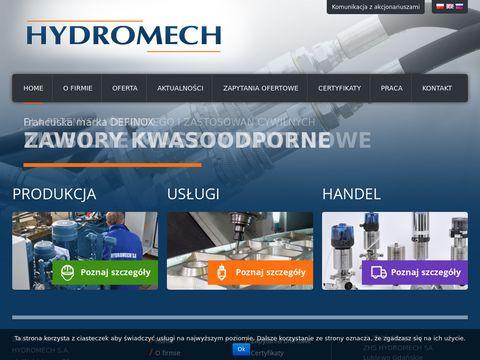 Hydromechsa.pl - zawory grzybkowe