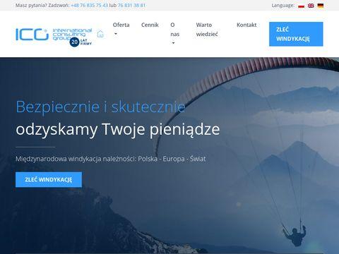 ICG Group Sp. z o.o. usługi windykacyjne