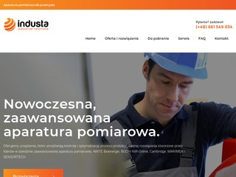 Industa.pl mierniki produkcji
