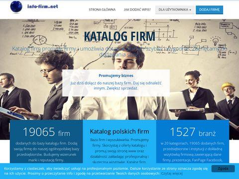 Info-firm.net spis firm