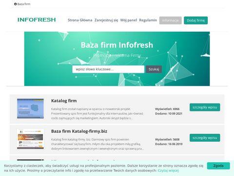 Infofresh.pl spis firm