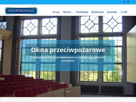 Interprodukt.pl - okna przeciwpożarowe