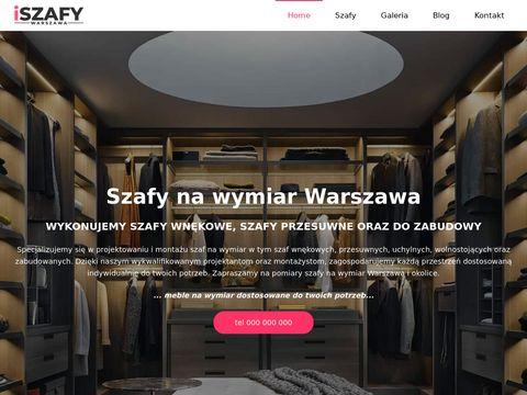 Iszafy.pl wnękowe Warszawa