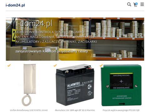 I-dom24.pl - domofony i wideodomofony