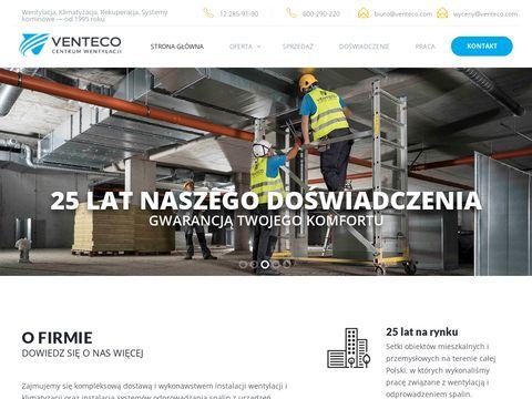 Venteco.com rekuperacja