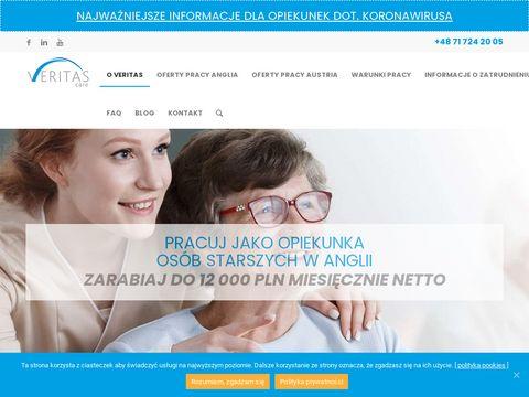 Veritas-care.pl praca w Anglii jako opiekunka