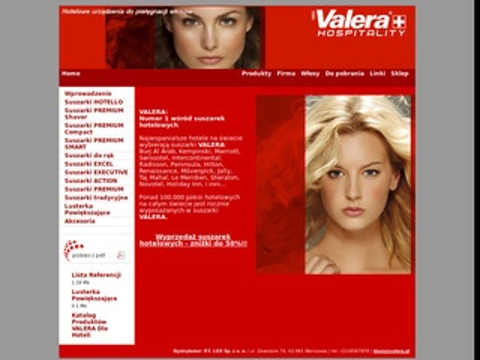 Valera.pl - suszarka hotelowa