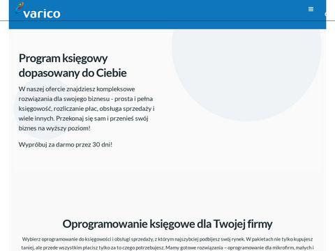Varico.pl - korekta kosztów w kpir