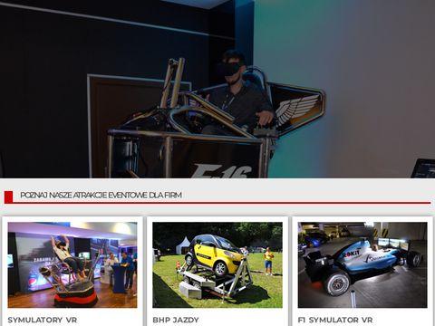 Vreal.pl wyjątkowe atrakcje eventowe
