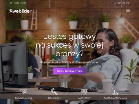 Weblider.pl pozycjonowanie Poznań