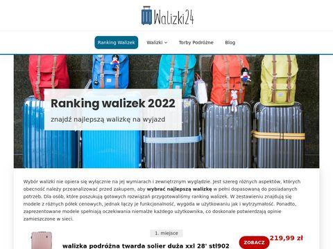 Walizki24.pl na kółkach